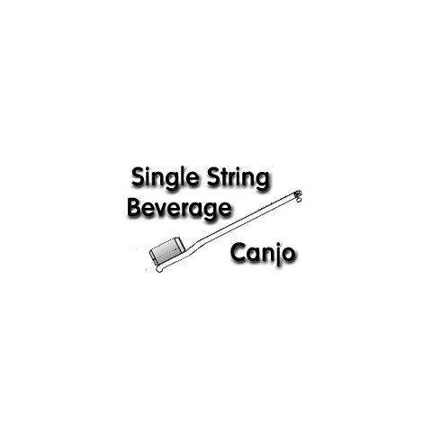 1 String Canjo Drawing