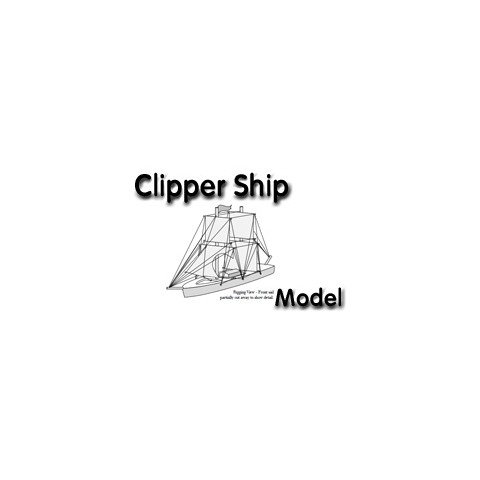 Clipper Ship Toy Drawing