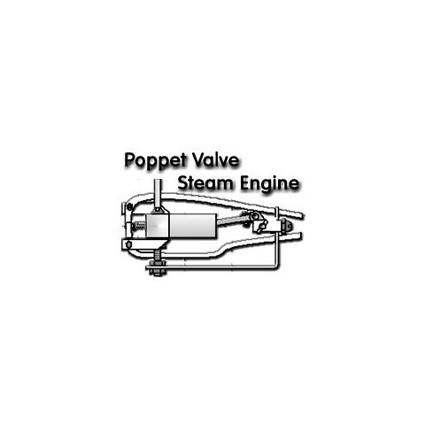 Poppet Valve Steam Engine Drawing