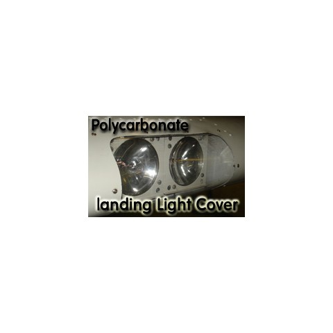 Building a Curved Landing Light Cover