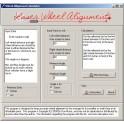 Laser Wheel Alignment Software