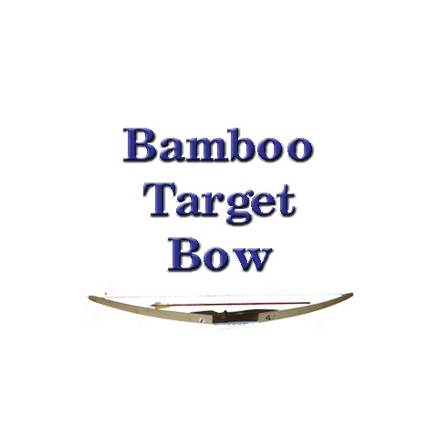 Bamboo Target Bow