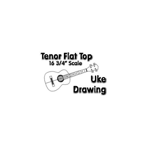 Tenor Ukulele Drawings