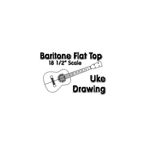 Baritone Ukulele Drawings