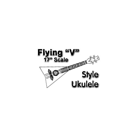 Polygonal Ukulele Drawings
