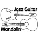 Jazz Guitar Style Mandolin Drawings