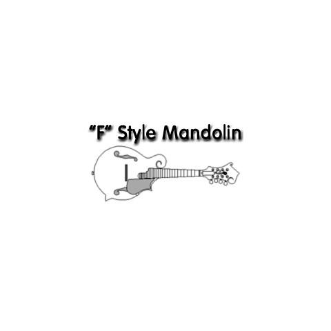 F Style Mandolin Drawings